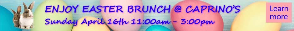 Easter Brunch at Caprino's